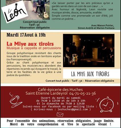 Concert La Miye aux tiroirs