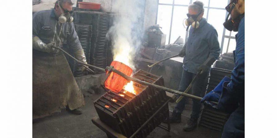 Visite manufacture et fonderie Bancel
