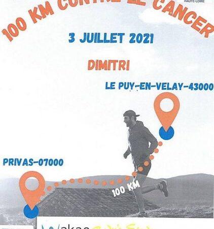100 km contre le cancer