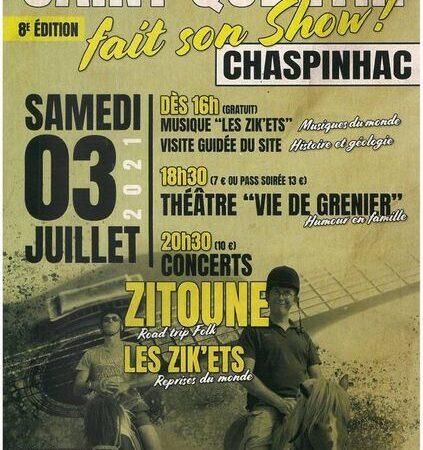Concerts Saint Quentin fait son show