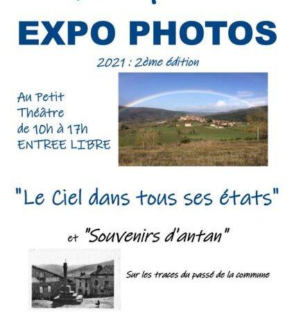 """Expo photos """"Le ciel dans tous ses etats"""" et """"Souvenirs d'antan"""""""