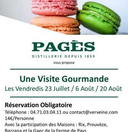 Visite gourmande PAGES