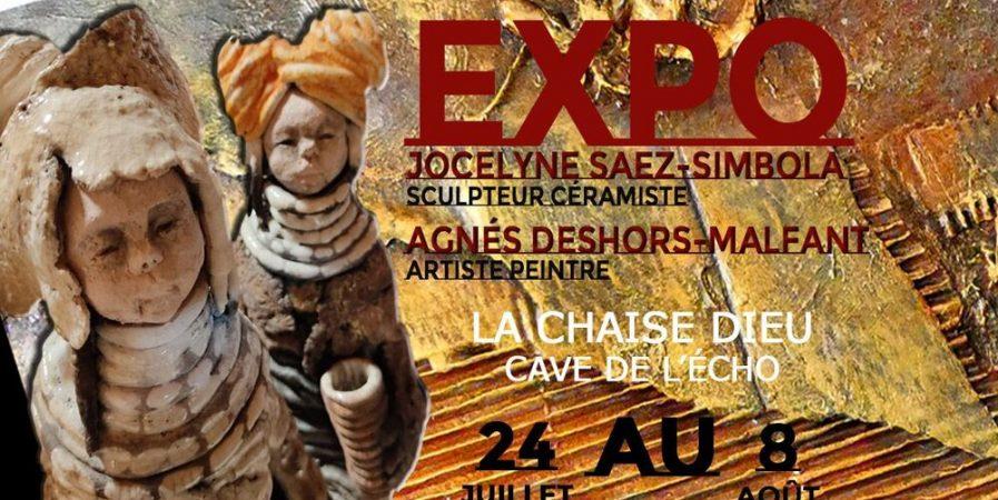 Exposition Jocelyne SAEZ-SIMBOLA et Agnès DESHORS-MALFANT