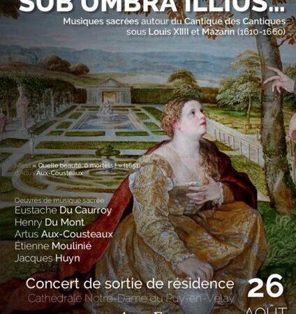 Concert : Sub Umbra Illius