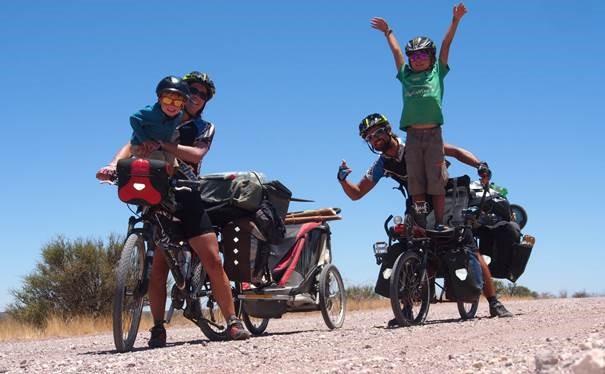 L'Afrique Australe à vélo et en famille