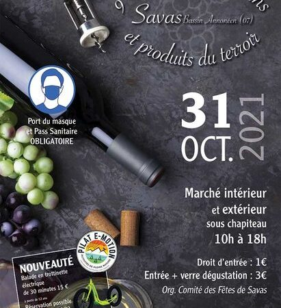 9ème Marché aux vins et produits du terroir