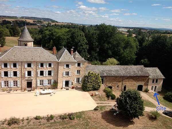 Gîte du Château de Lavée