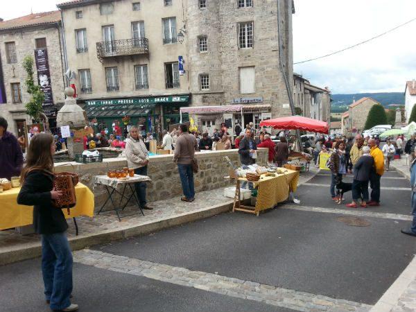 Marché de La Chaise-Dieu