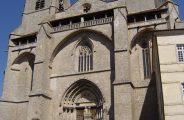 façade église abbatiale La Chaise-Dieu
