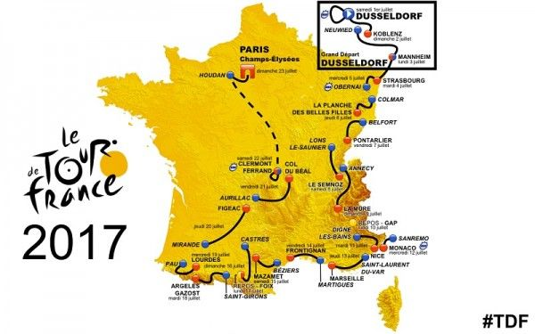 Passage Tour de France – Saint Bonnet le Froid