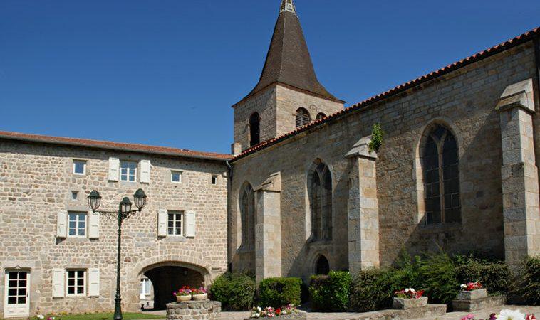Église et Château Prieuré clunisien