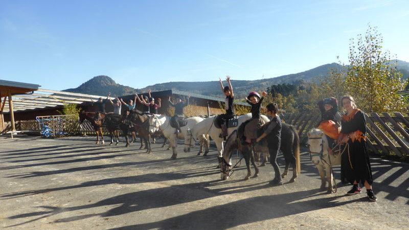 Découverte du poney au Centre équestre d'Yssingeaux