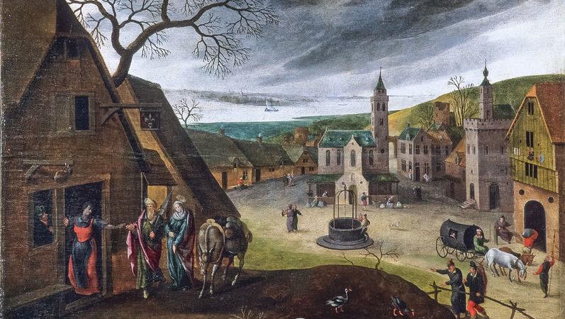 Visite guidée de la collection des 12 tableaux flamands