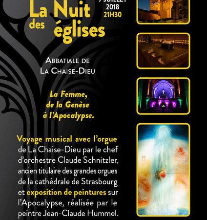 La nuit des églises à La Chaise-Dieu