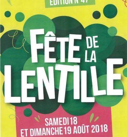 Fête de la Lentille à Rosières – 47ème Edition