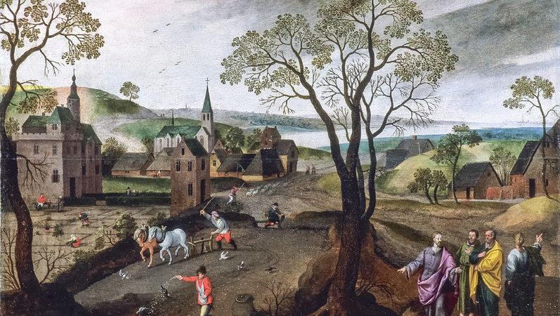 Collection de tableaux d'Abel Grimer
