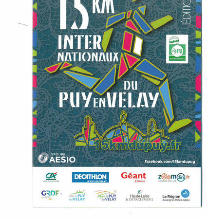 Course 15km internationaux du Puy-en-Velay
