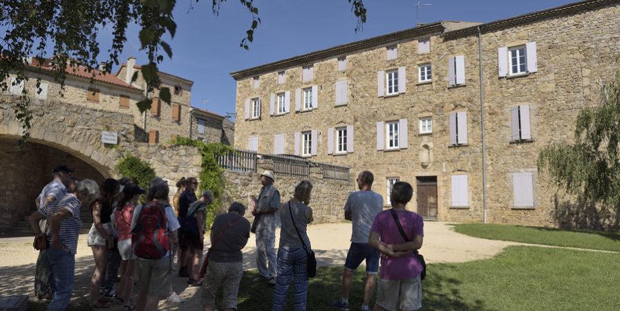 Visites estivales du village médiéval de Boulieu-les-Annonay