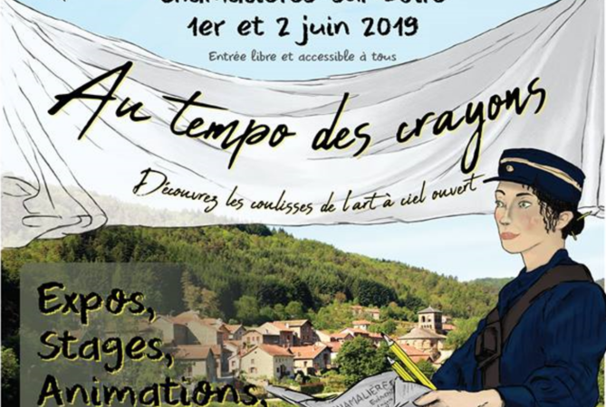 Au tempo des crayons – expos, stages, animations, spectacles