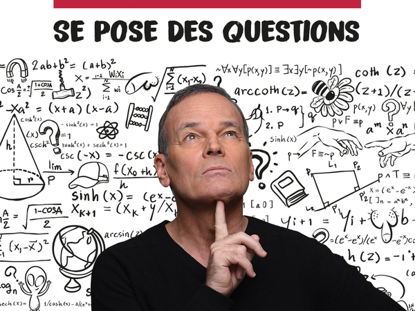 "Spectacle  ""Laurent Baffie se pose des questions"""