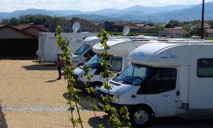 Aire de camping-car de Vernosc