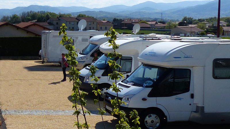Aire de camping-car de Vernosc-lès-Annonay