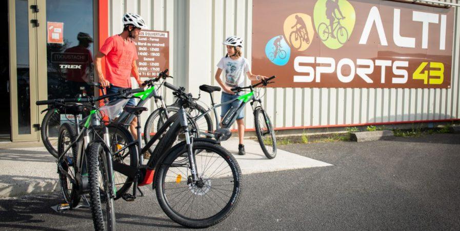 Réparation  VTT (et Vélo à assistance électrique)  à Altisports 43