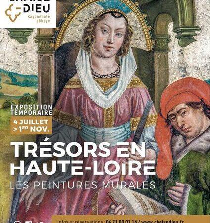 """Exposition """"Trésors en Haute-Loire"""""""