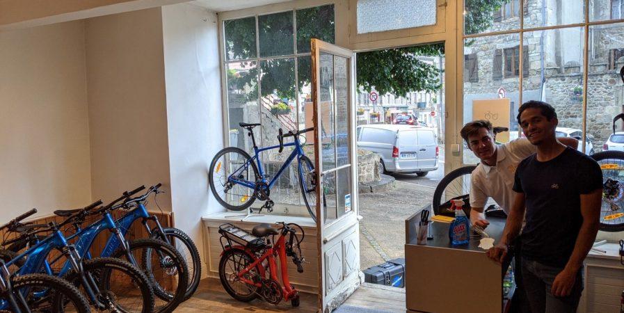Pile à vélo : location de vélo