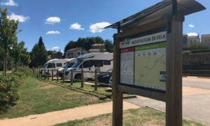 aire de camping car Montfaucon en Velay