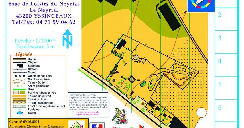 Parcours d'orientation du Neyrial