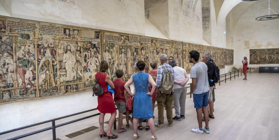"""Visite """"Thématique"""" sur les Tapisseries de La Chaise-Dieu"""