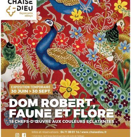 """Visite """"exposition Temporaire"""" sur Dom Robert"""
