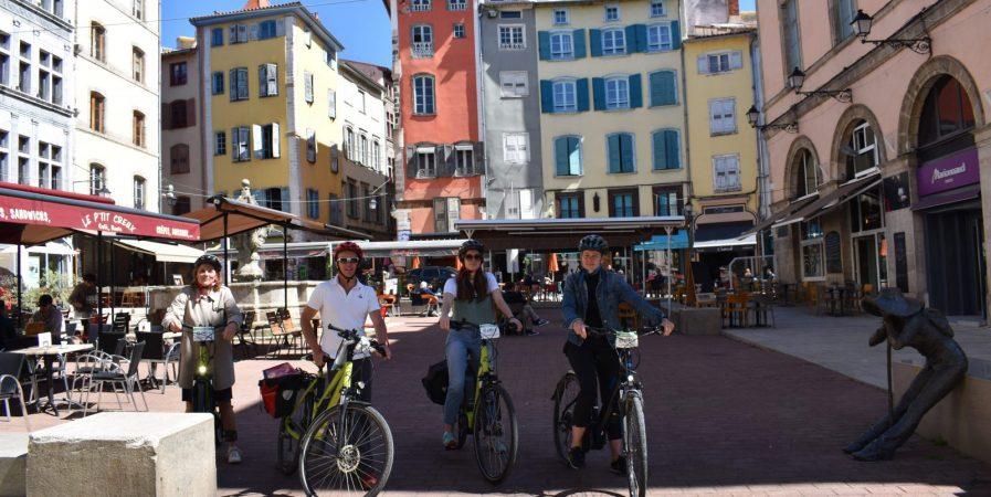 Grand Tour du Puy-en-Velay à vélo électrique